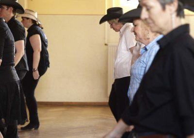 Cours de dance Country, Vullierens